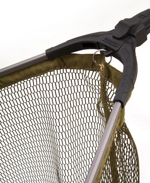 New daiwa trout fishing folding telescopic landing net for Extendable fishing net