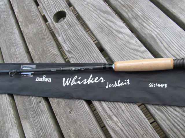 Daiwa whisker jerkbait coarse fishing rod 6 39 6 special for Fishing rod clearance