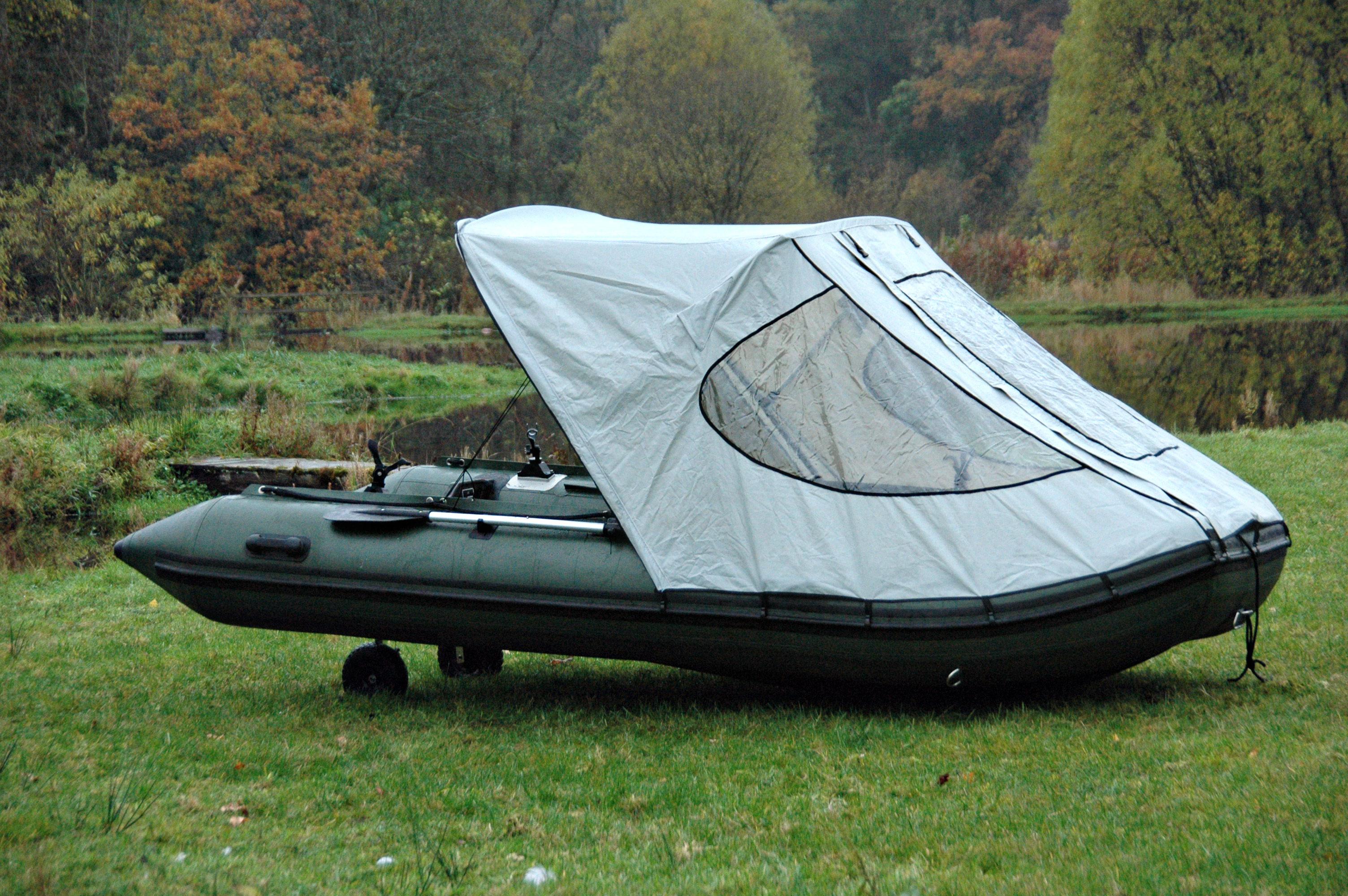 Bison Marine Bimini Cockpit Tente Auvent Pour Bateau Gonflable