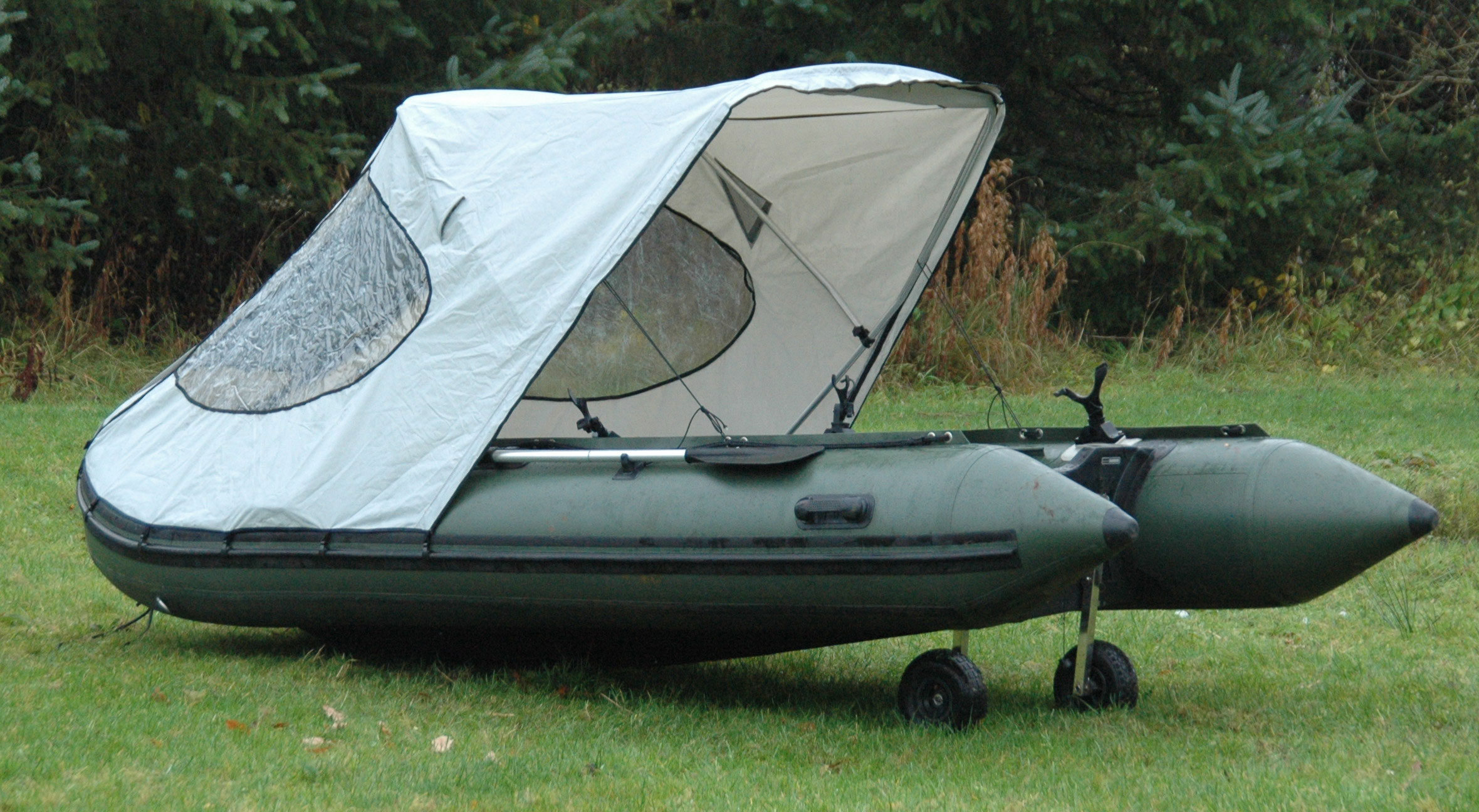 BISON MARINE BIMINI COCKPIT TENT CANOPY FOR INFLATABLE ...