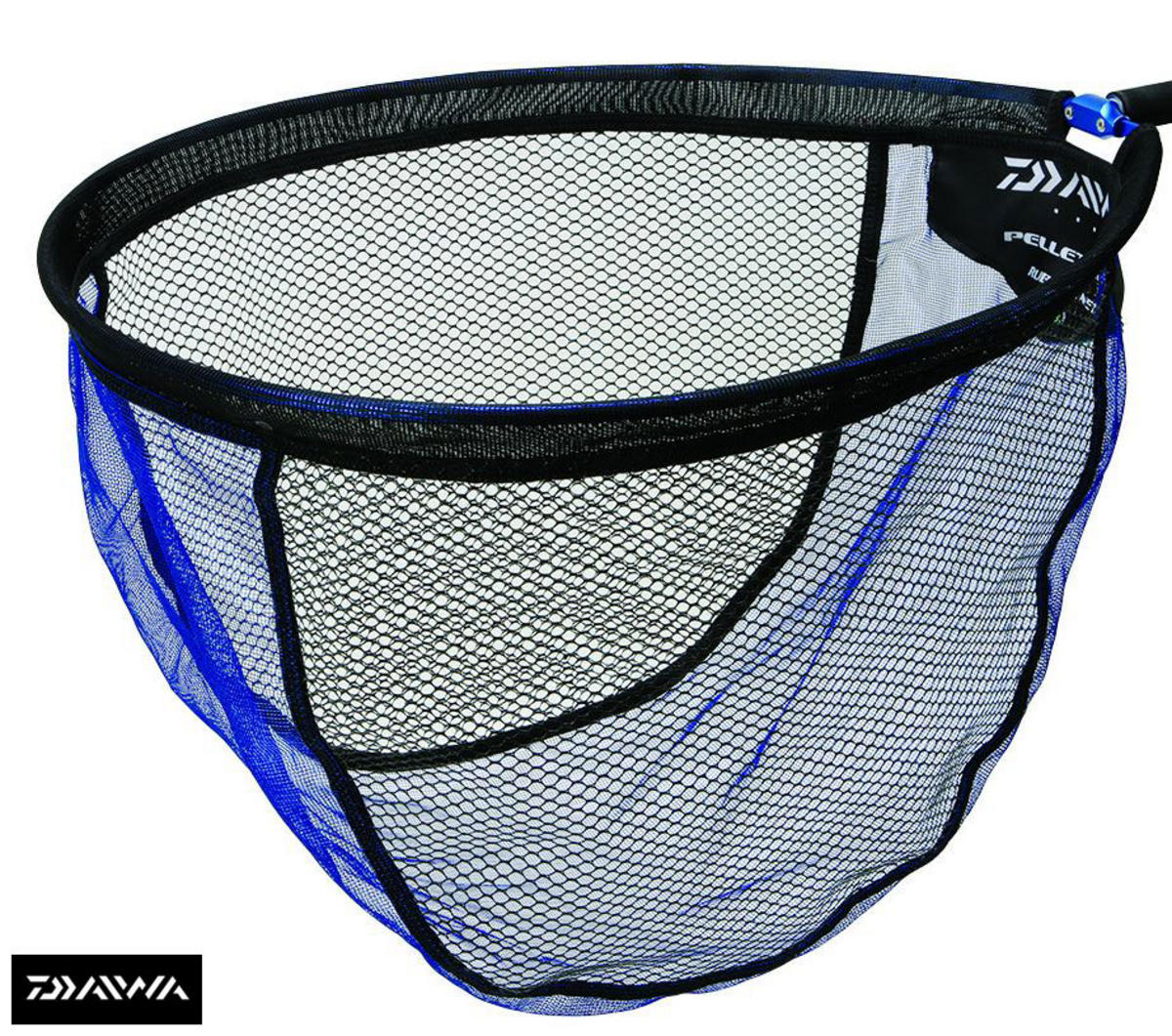New daiwa pellet mesh rubber landing net head all sizes for Rubber fishing nets
