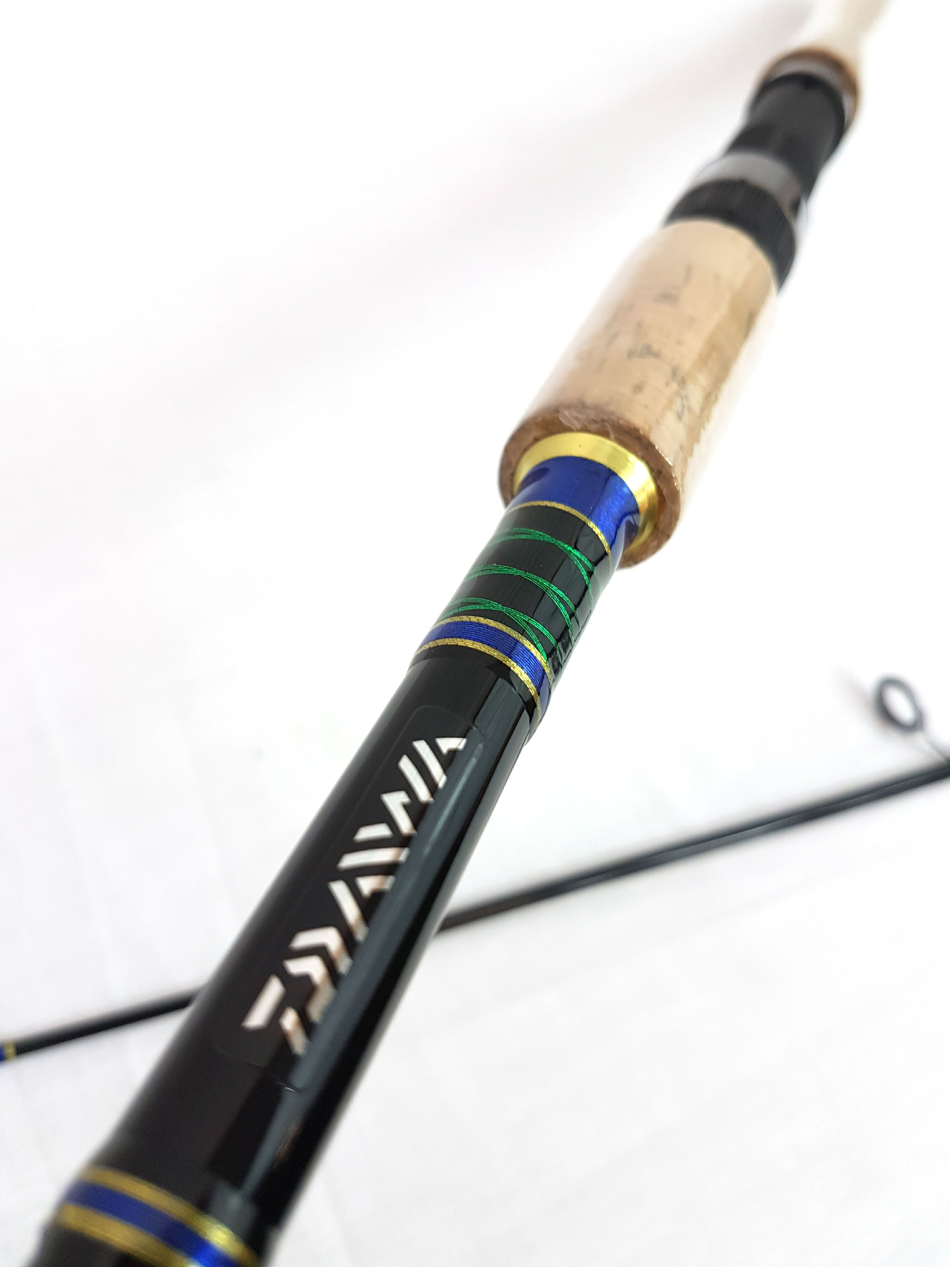 Daiwa sweepfire sw602ms bs6 39 2 pc spinning rod special for Fishing rod clearance