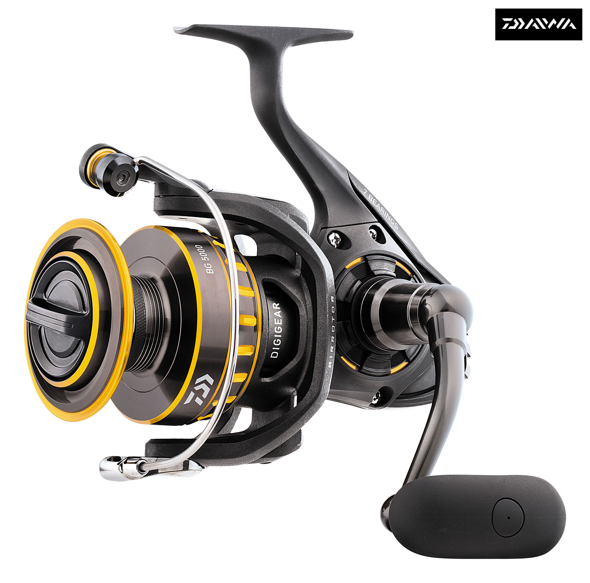 New daiwa bg spinning reels freshwater saltwater all for Daiwa fishing reels