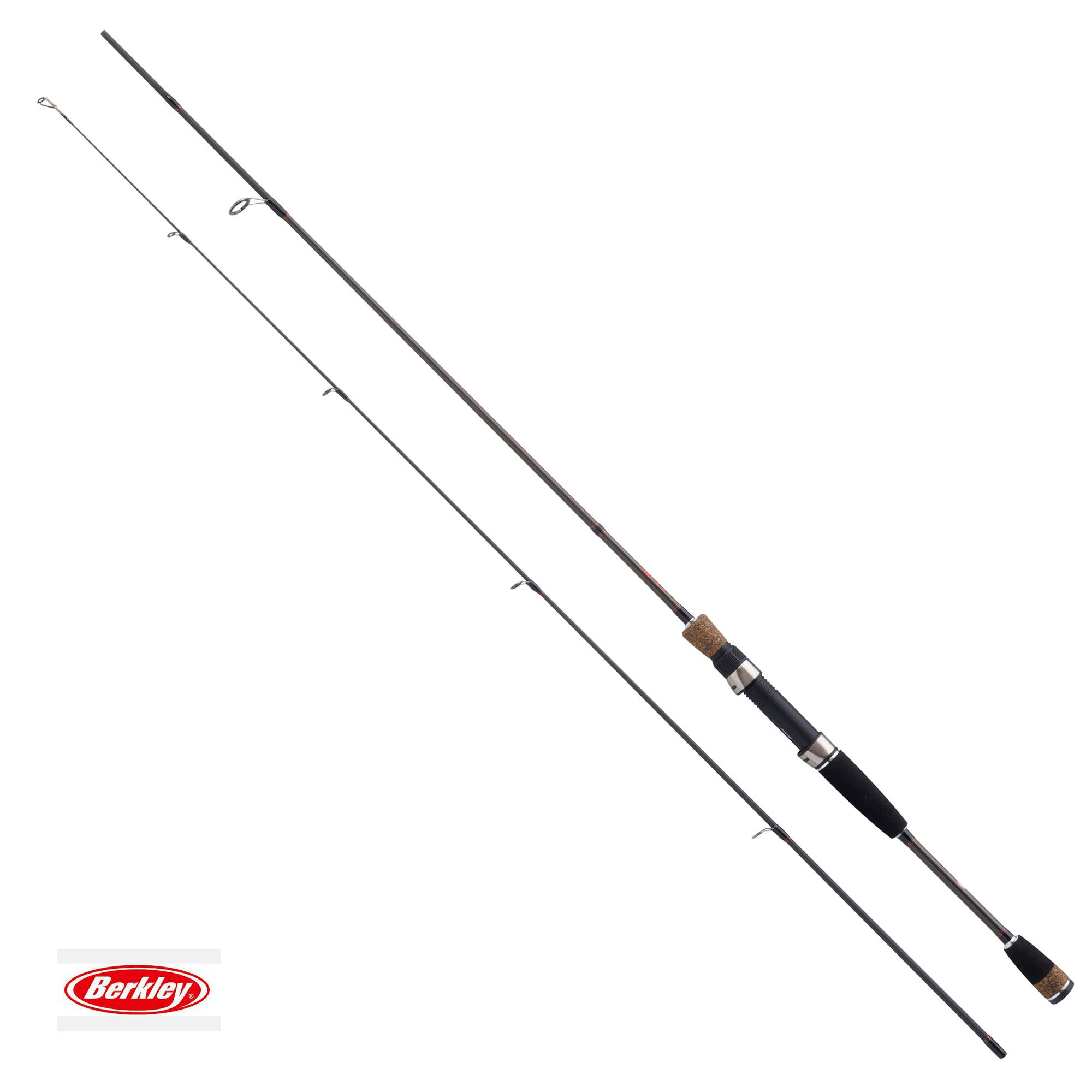 New berkley fireflex spinning rod 7ft 8ft 2pc all for Berkley fishing rods
