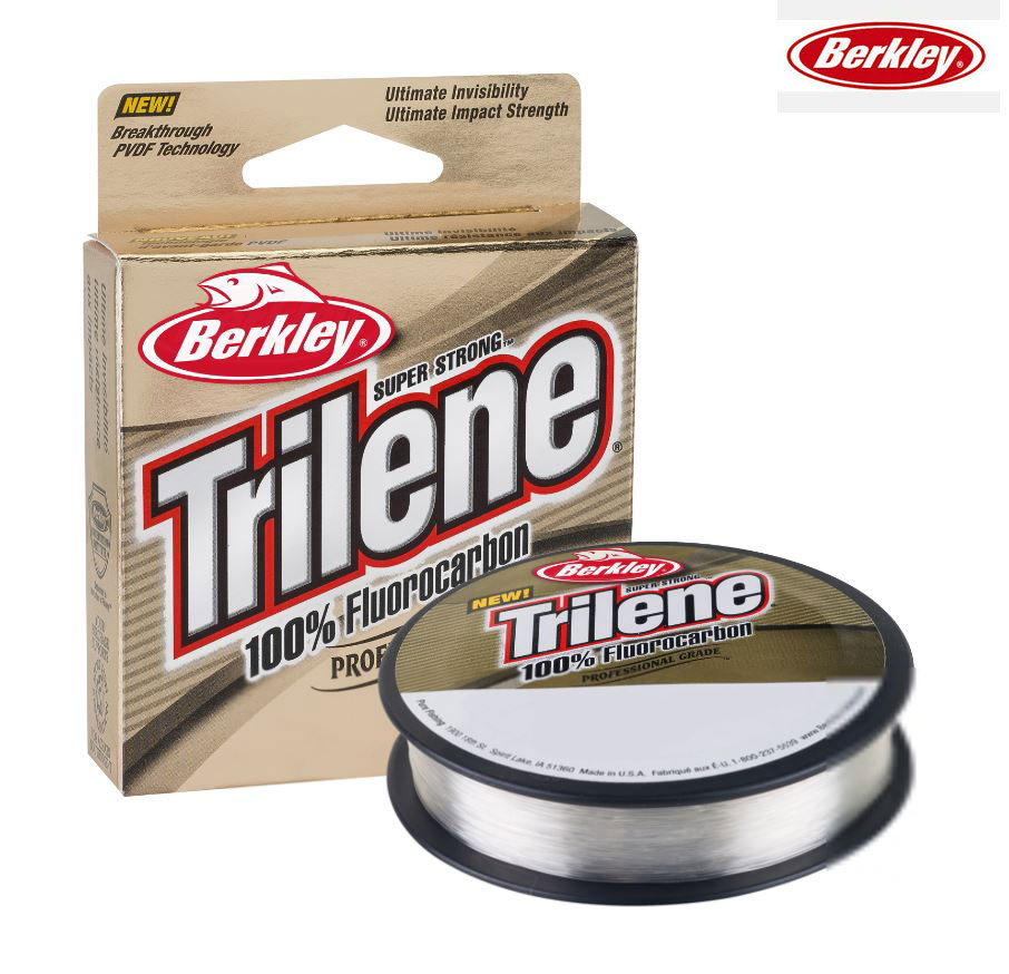 BERKLEY TRILENE 100/% FLUOROCARBONE Tippet//Leader Ligne Bobine 50 m-TOUS B//souches