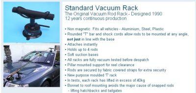 VAC RAC CAR ROD RACK HOLDER STANDARD Enlarged Preview