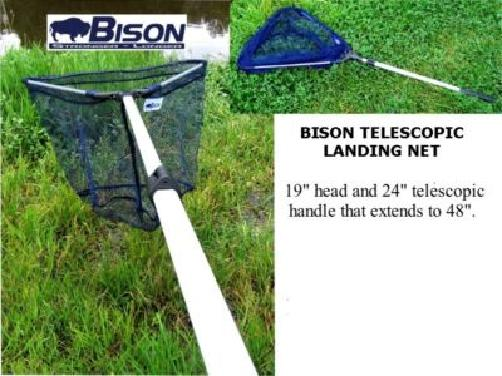 BISON TELESCOPIC LANDING NET Enlarged Preview
