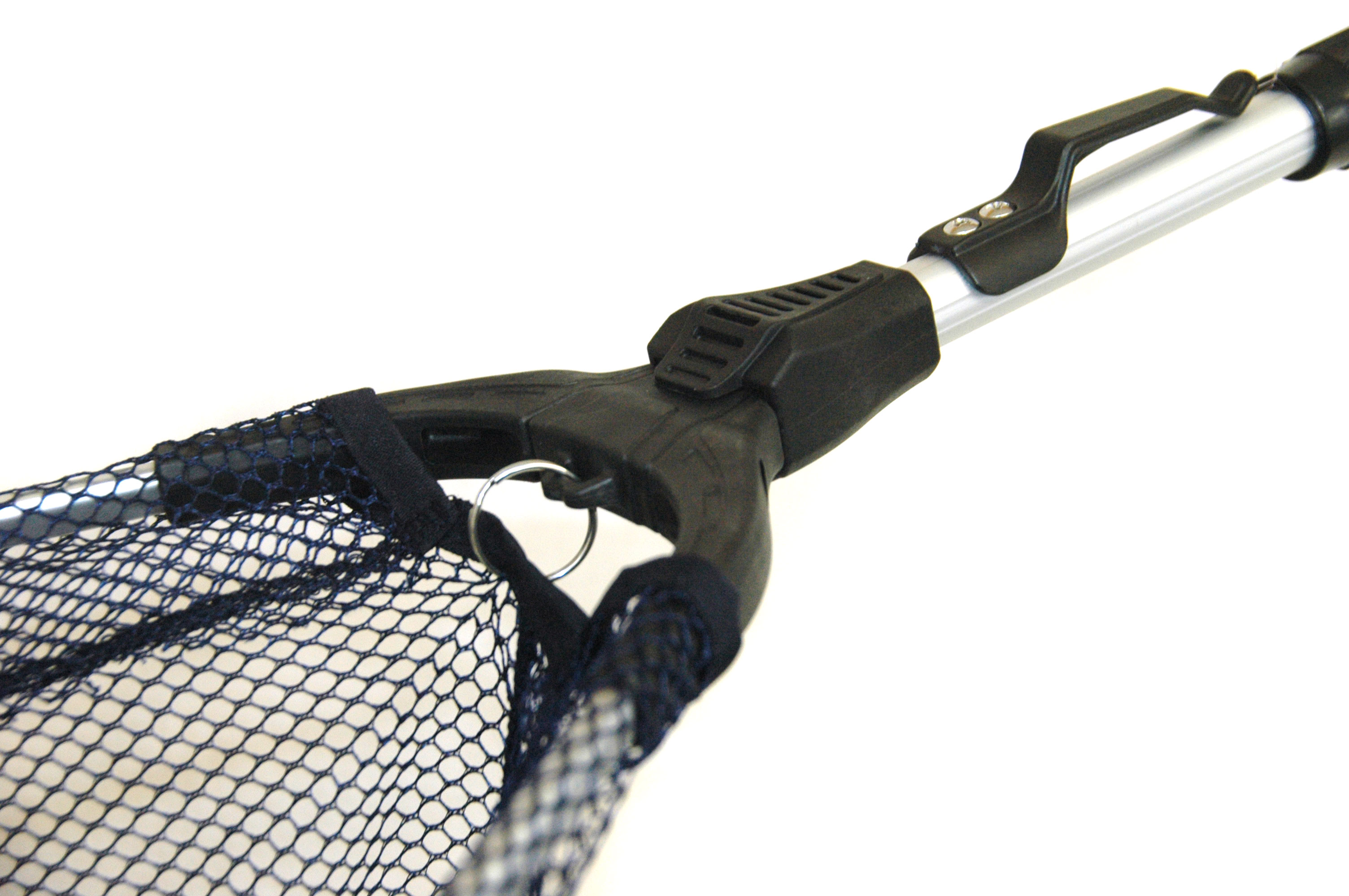 Bison telescopic landing net ebay for Telescoping fishing net