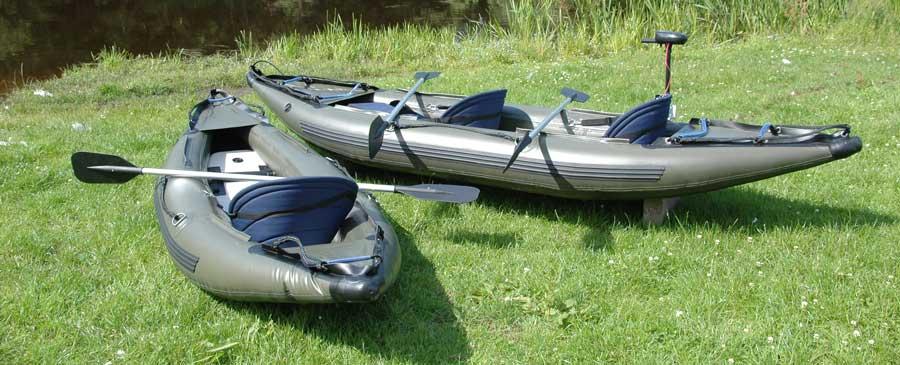 Inflatable 2 Man Fishing Kayak Canoe Outboard Motor Ebay