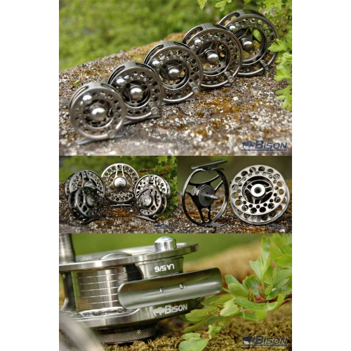 BISON LA LARGE ARBOR  FLY REELS 2/3,3/4,5/6,7/8,9/10 Enlarged Preview