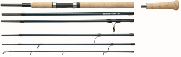 SHAKESPEARE EXPEDITION XT TRAVEL SPIN ROD 7' 5pc 5-30g Enlarged Preview