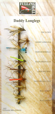 FULLING MILL DADDY LONGLEGS FLY SELECTION PACK 1643 Enlarged Preview