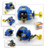 View Item BANAX KAIGEN 250 ELECTRIC MULTIPLIER REEL NEW MODEL