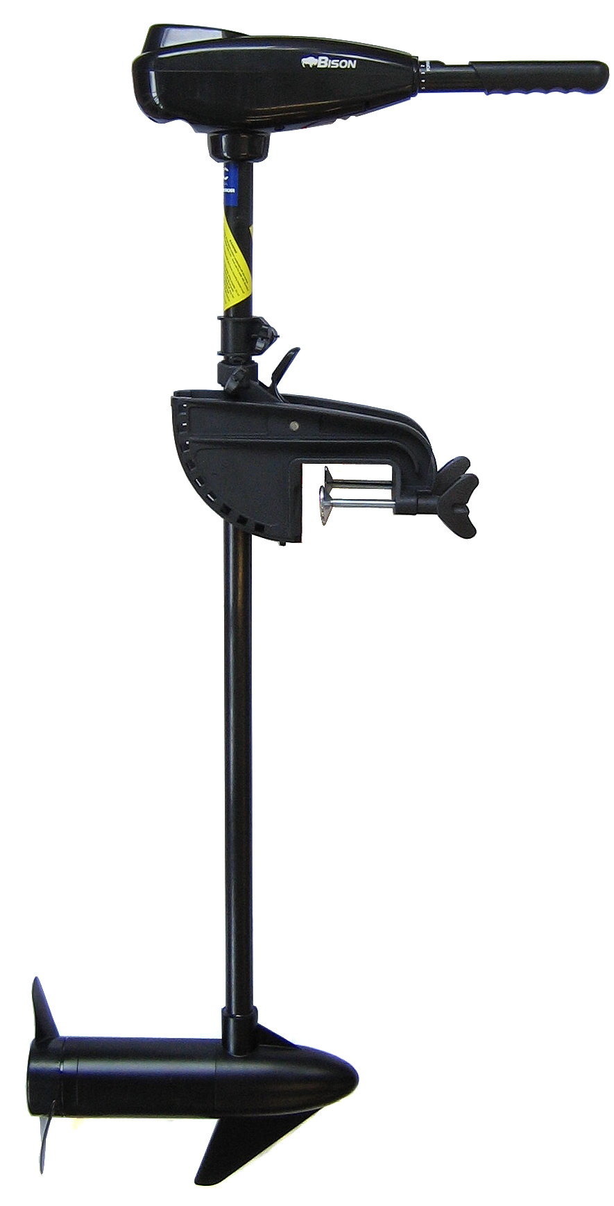 Bison 40 39 lb electric outboard trolling motor ebay for Cheap saltwater trolling motor