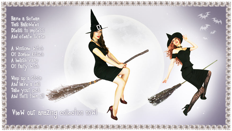 Sirens and Starlets Halloween Collection - Click to Shop!