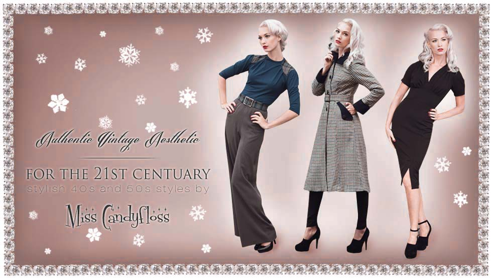 Vintage Winterwear from Miss Candyfloss - Click to Shop!