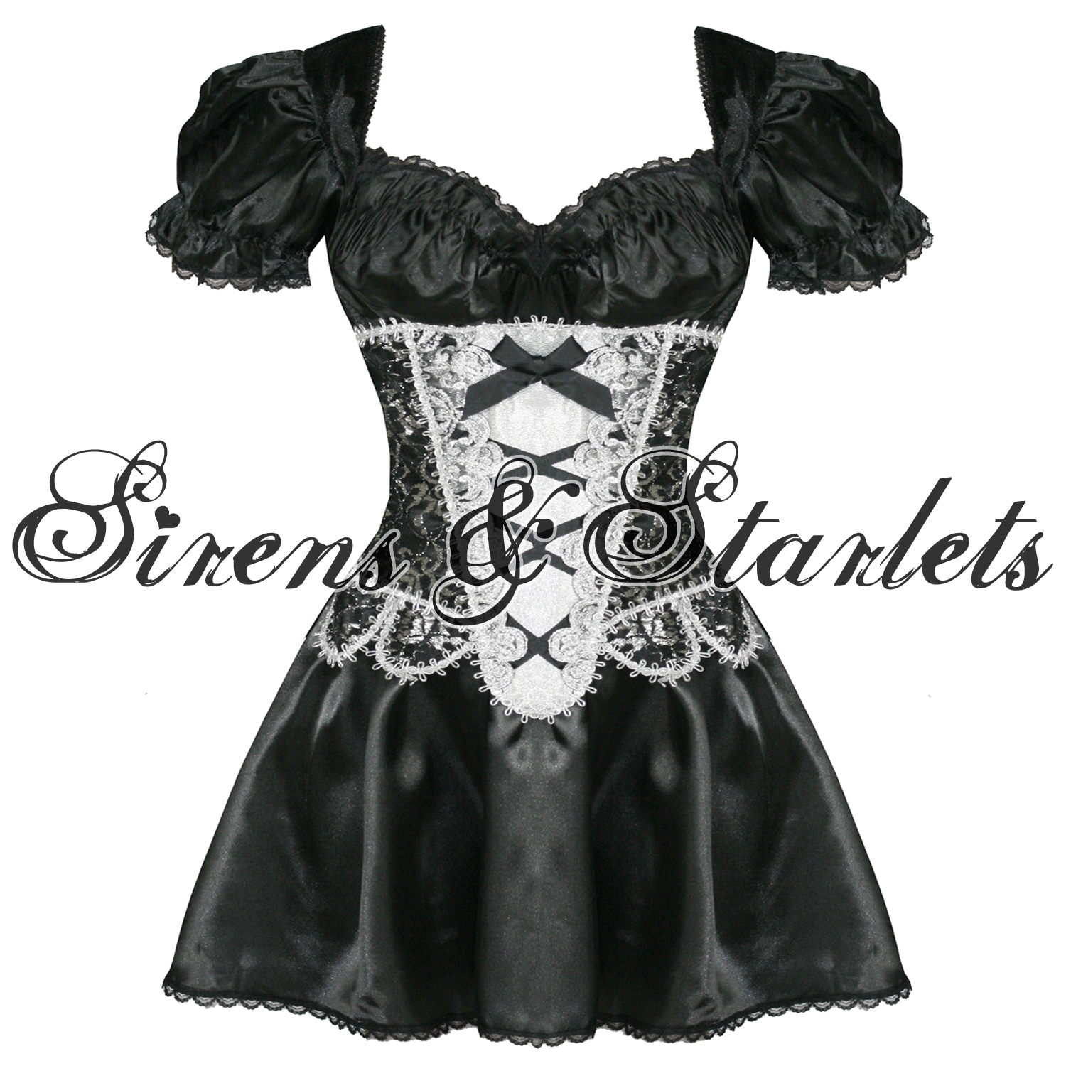 SEXY-BLACK-WITCH-FANCY-DRESS-GOTHIC-CORSET-COSTUME-OUTFIT-PLUS-SIZE
