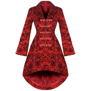 Hearts and Roses London Red Tattoo  Military Coat