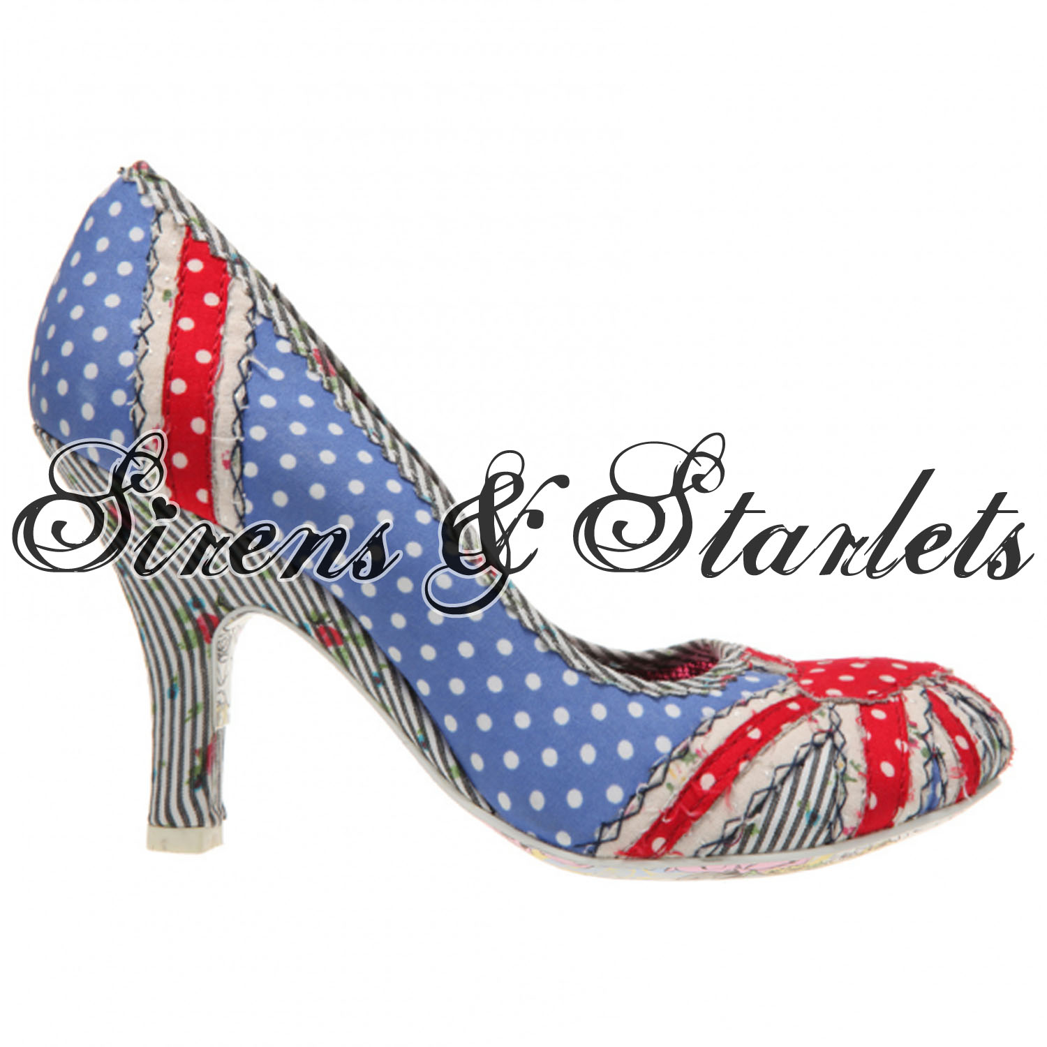 IRREGULAR-CHOICE-PATTY-BLUE-POLKA-DOT-UNION-JACK-FLORAL-BRITISH-FLAG-COURT-SHOES