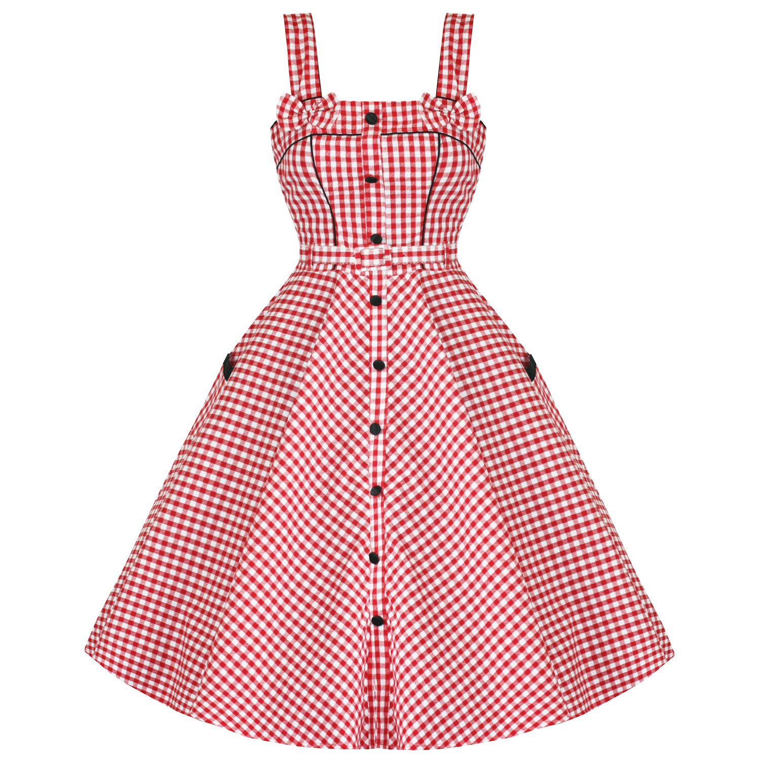 Red Gingham Dress Cocktail Dresses 2016