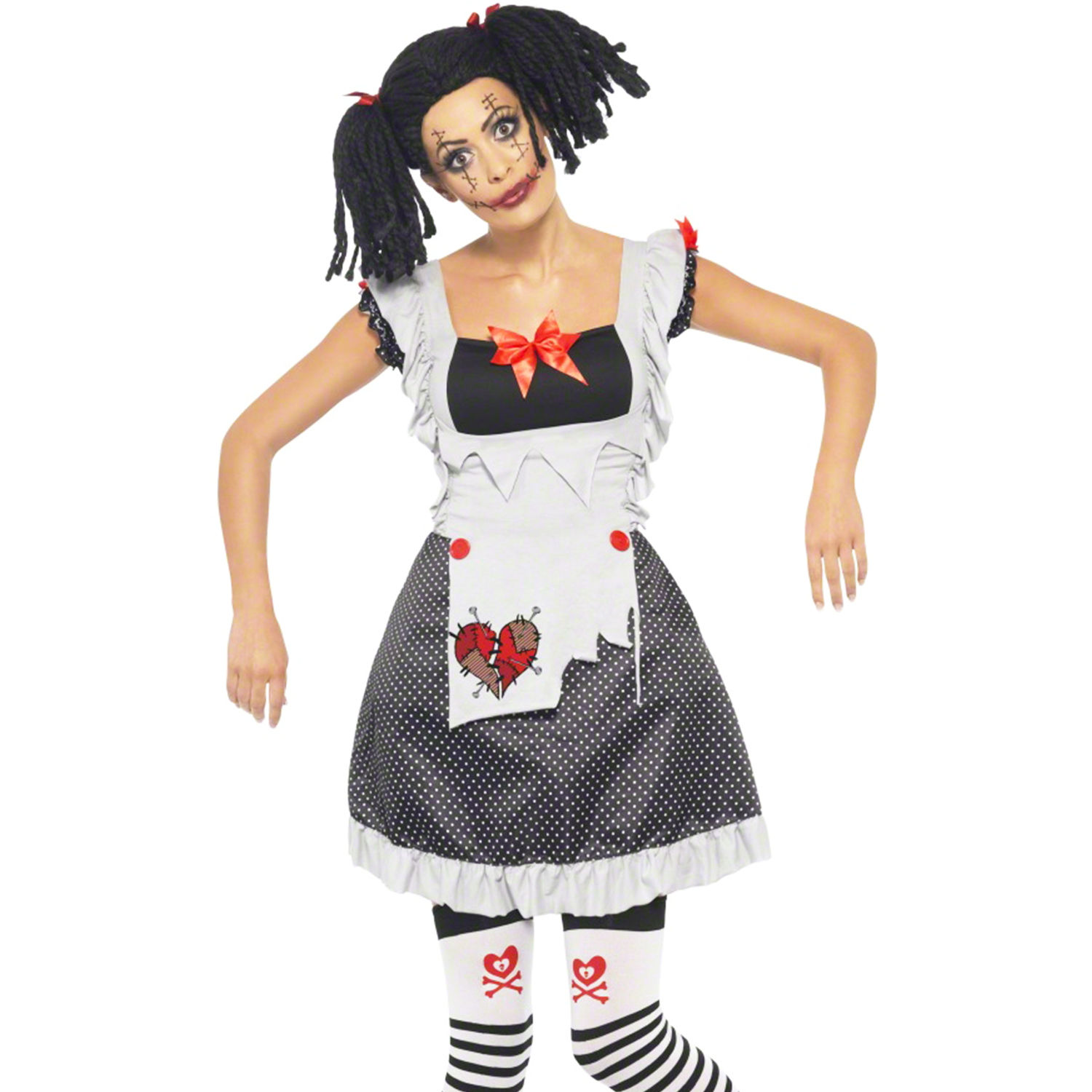 Plus Size Sally Halloween Costume