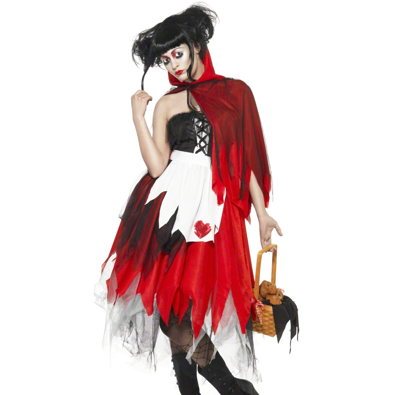 disguise red riding hood sexy halloween gothic new ebay. Black Bedroom Furniture Sets. Home Design Ideas