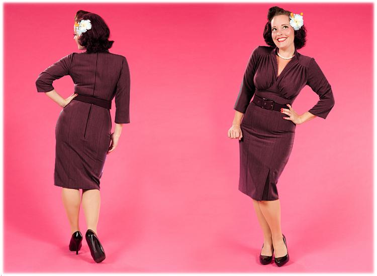 miss candyfloss neu 1950er vintage stil bleistift kleid. Black Bedroom Furniture Sets. Home Design Ideas
