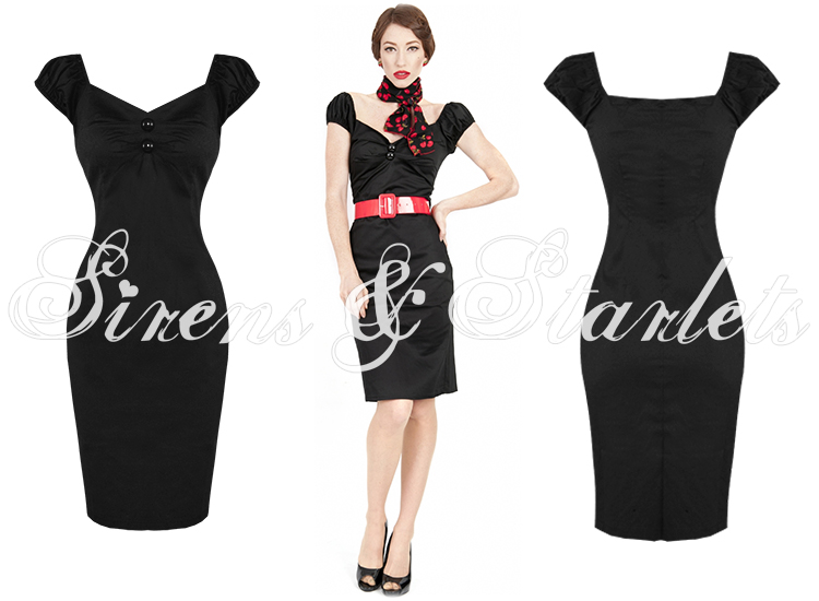 Collectif dolores dress black