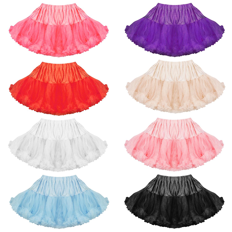 Women's Petticoat Skirt Tutu
