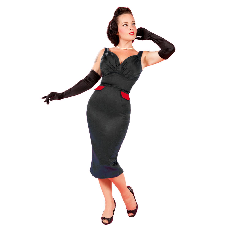 Moulante Cocktail Tube Bal Rétro Vintage Miss Candyfloss Années 50