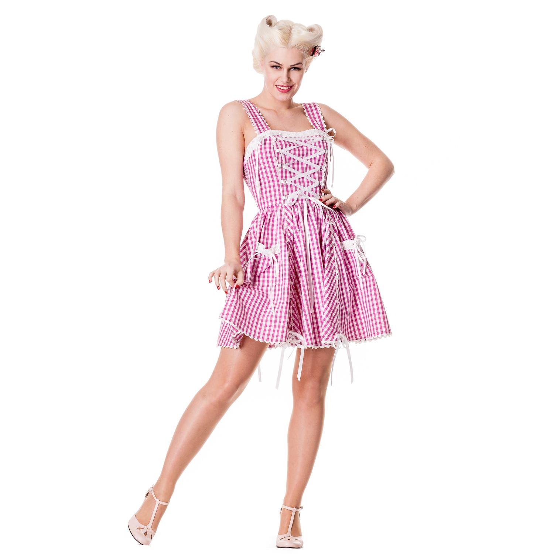Hell Bunny Jinmu Lolita Gingham Verano Rockabilly Vintage 50s Fiesta ...