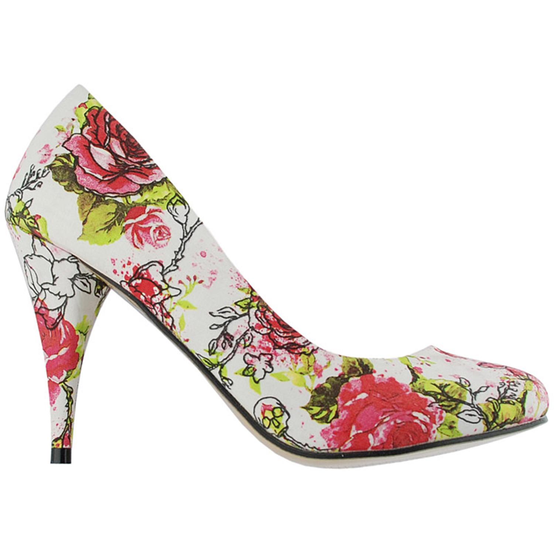 Vintage High Heels - Iron Fist Creepy Rose Heels Shoes