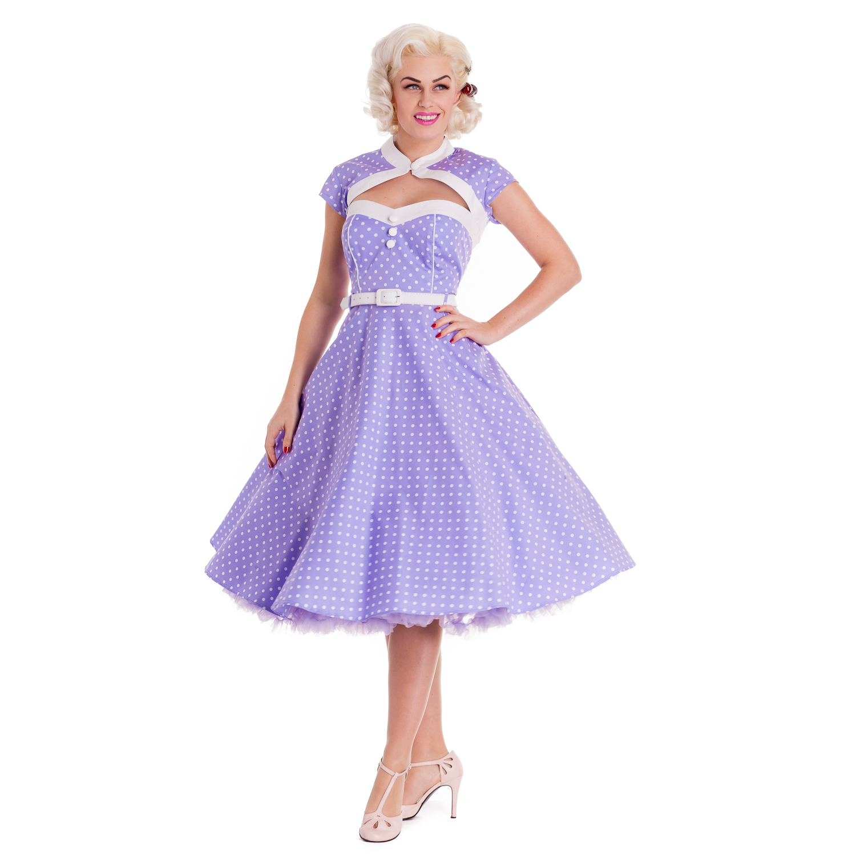 Hell-Bunny-Melanie-Polka-Dot-Rockabilly-Vintage-Inspired-50s-Party-Prom-Dress