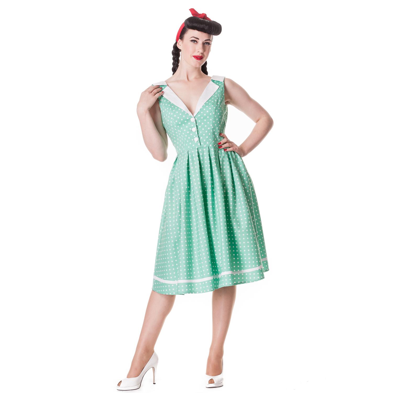 Hell Bunny Karen Polka Dot Rockabilly Vintage Inspired 50s Party ...