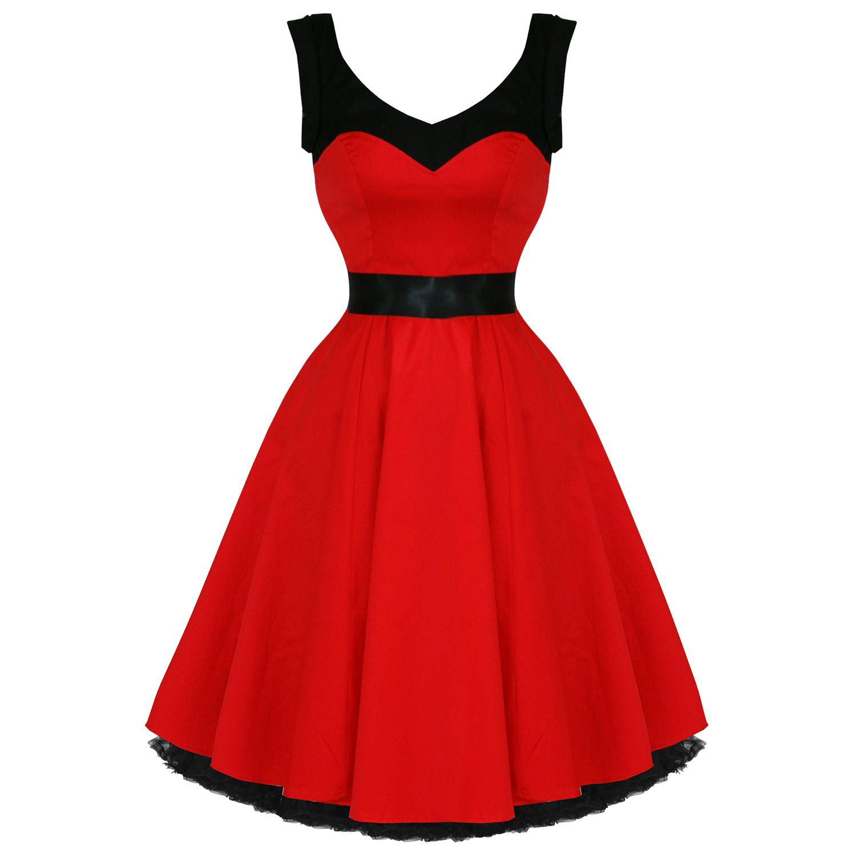 Платье в стиле рок н ролла