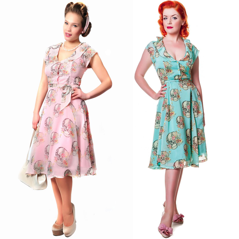 vintage clothing chiffon dress