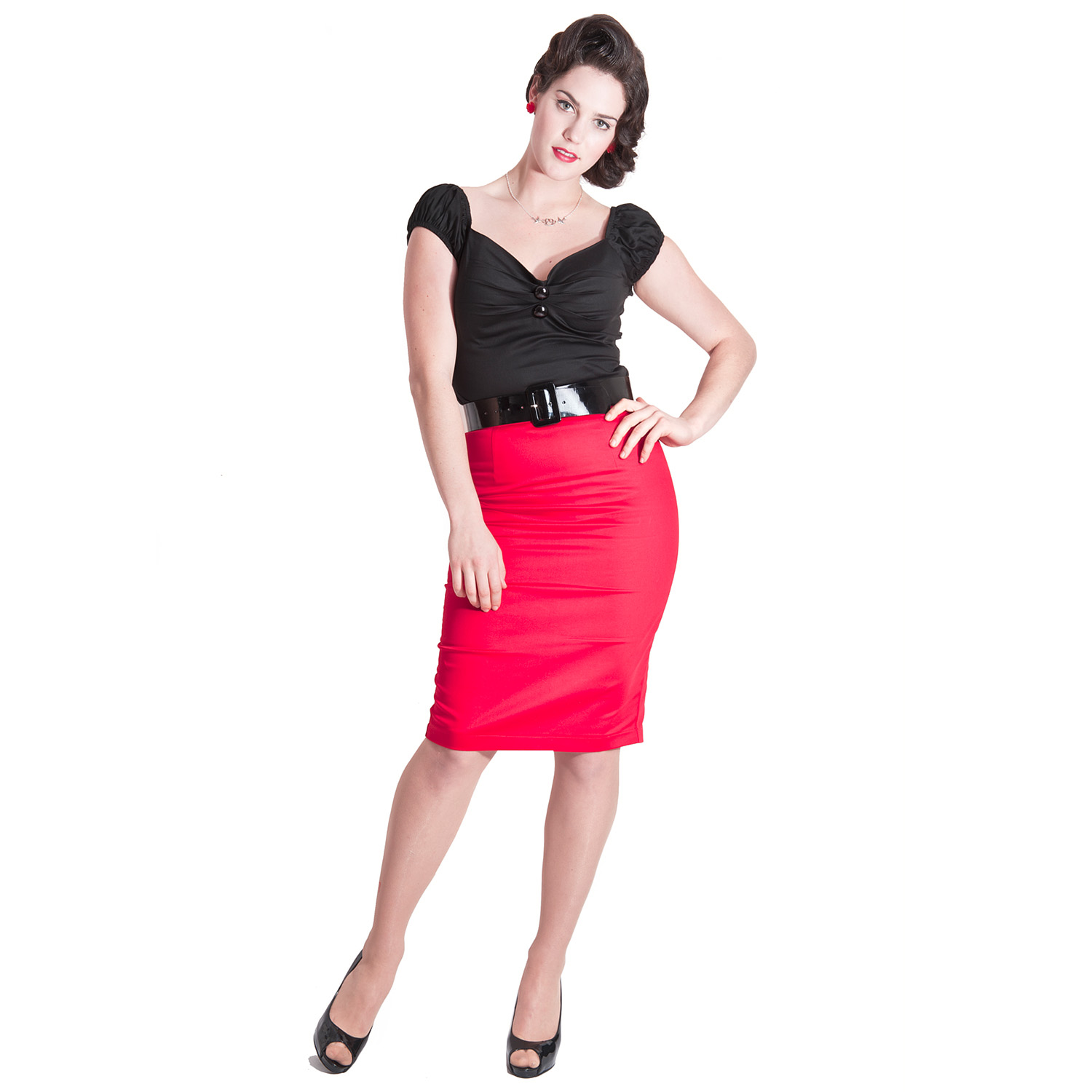 collectif betty lou vintage rockabilly pinup fitted formal