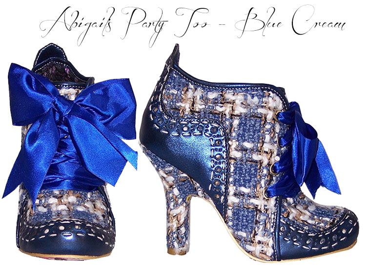 Irregular Choice New Ladies Vintage Retro Kitsch 1950s Style Heels Shoes