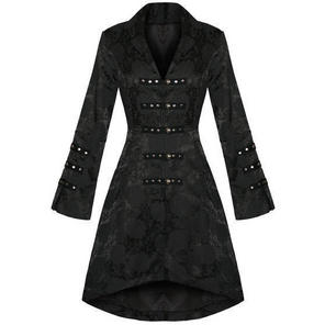 Hearts and Roses London Floral Military Coat