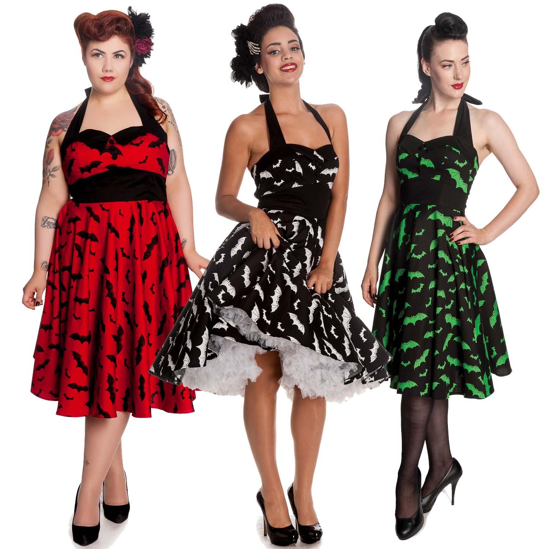ladies halloween fancy dress halloween hell fire rockabilly psychobilly vintage 50er party ebay. Black Bedroom Furniture Sets. Home Design Ideas