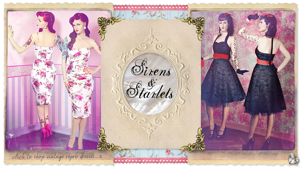 Sirens and Starlets - Click to Shop!