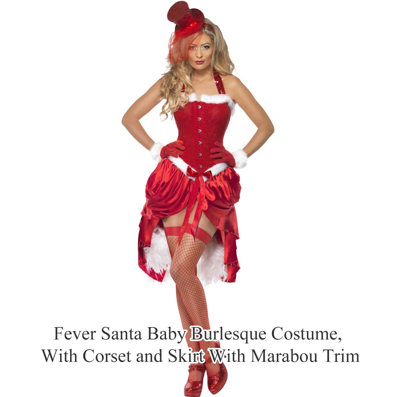 La s Womens New y Christmas Santa Girl Pinup Fancy Dress