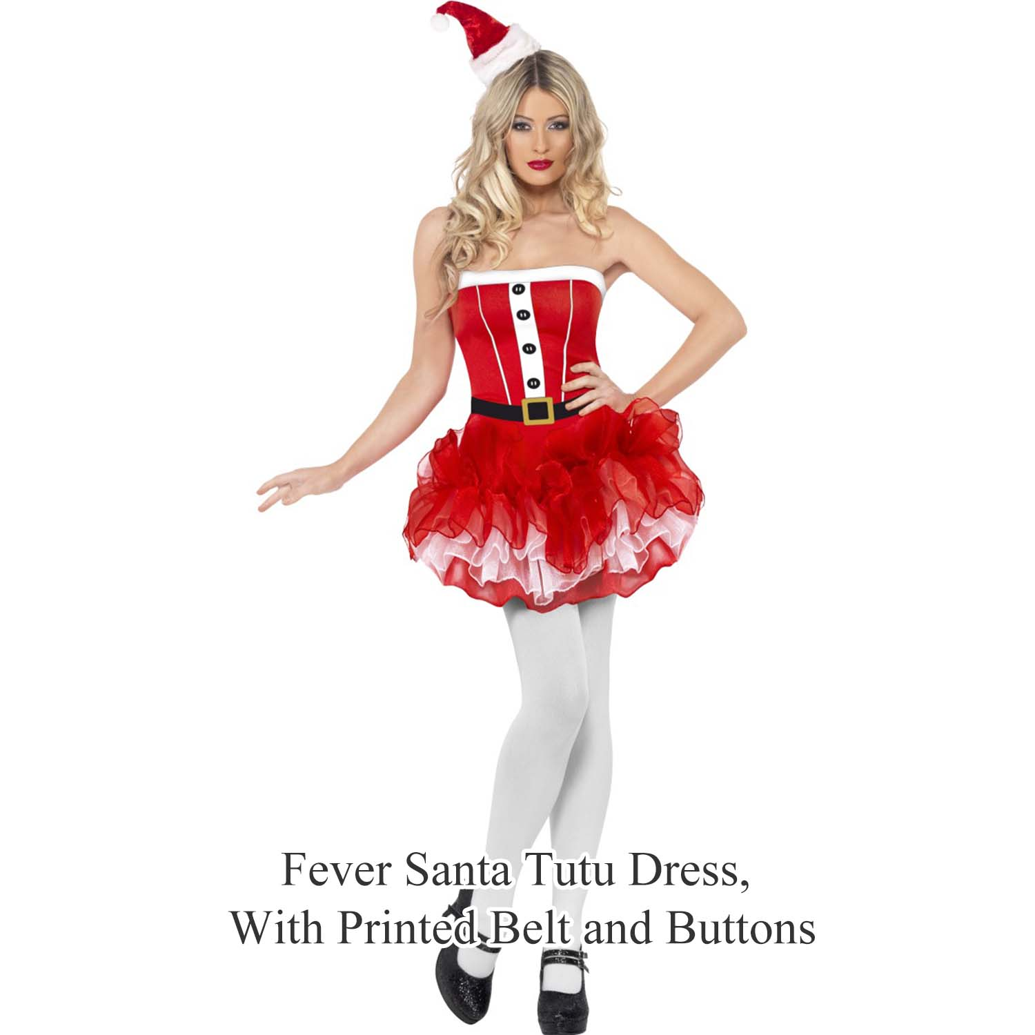 Ladies womens new sexy christmas santa girl pinup fancy dress costume