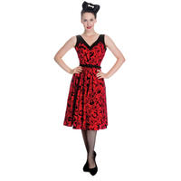 Hell Bunny Liv Tattoo Rockabilly Swallow Anchor Vintage Party 50S Prom Dress