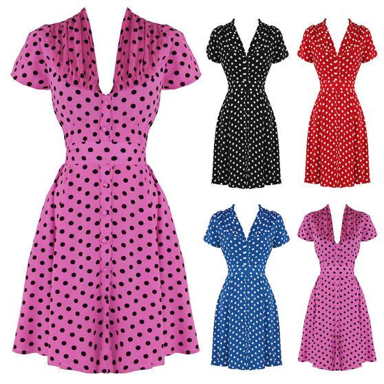 The Seamstress of Bloomsbury Paula 1940s Dress