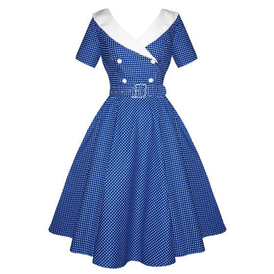 Hell Bunny Claudia 1950s Dress