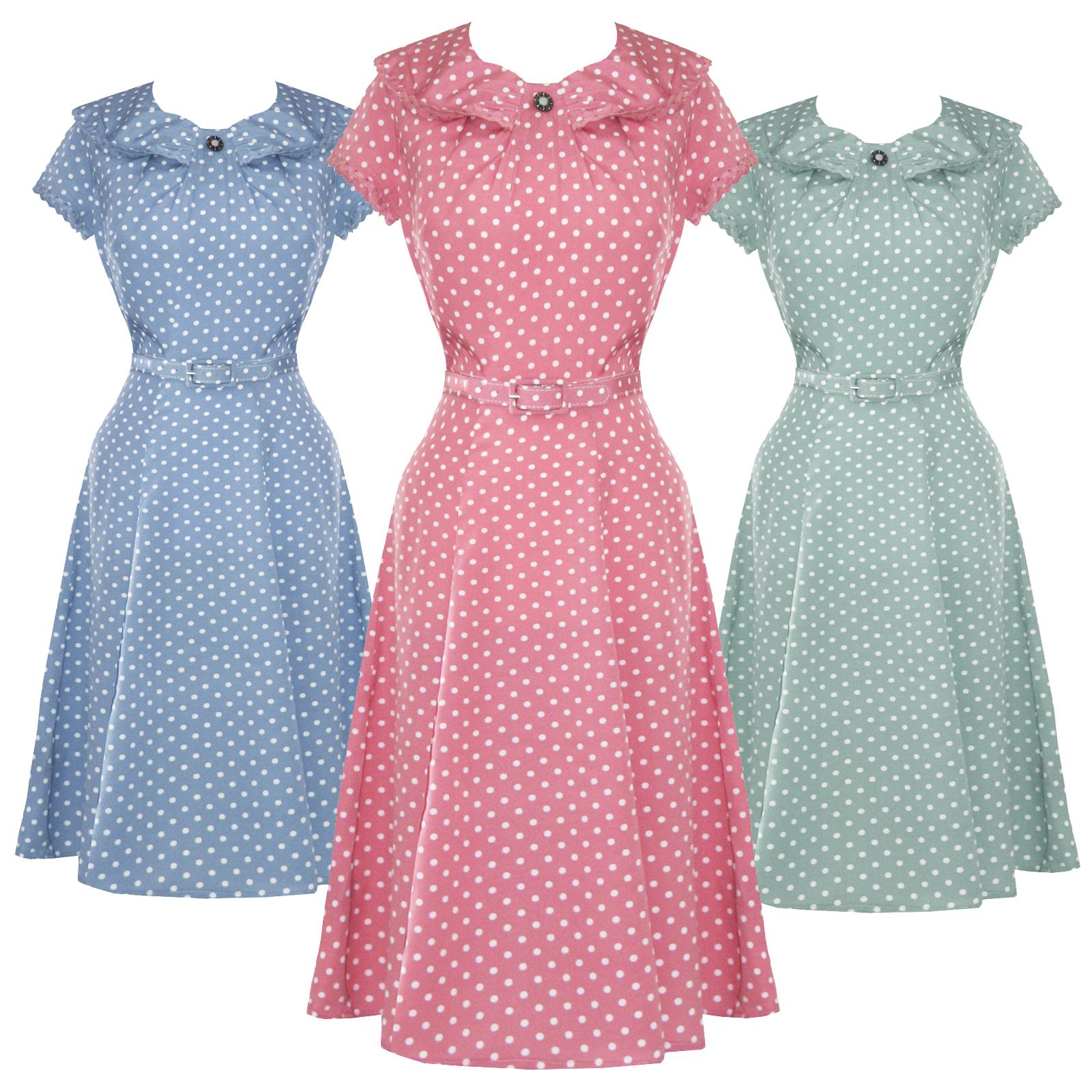 1940s Summer Dress