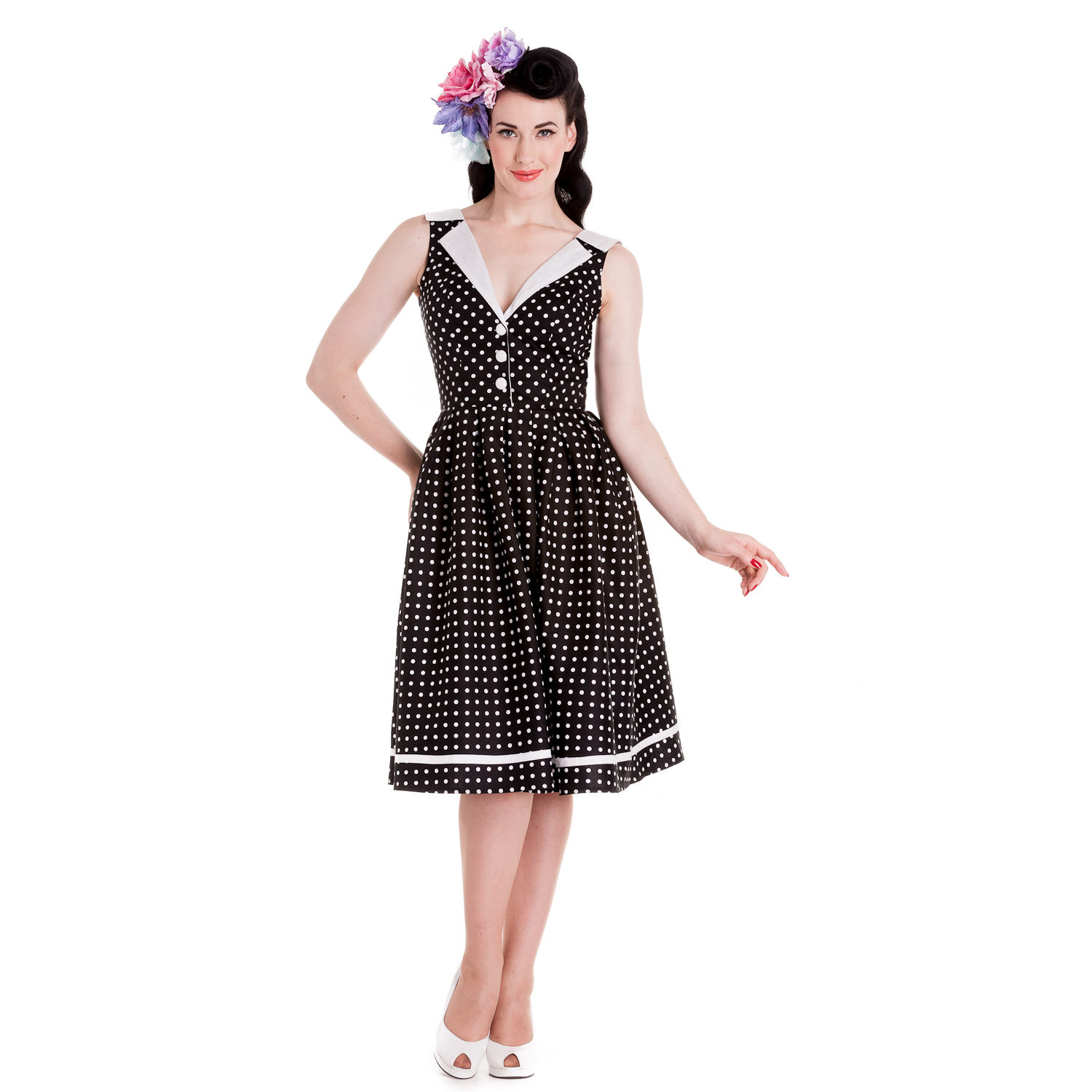 Hell-Bunny-New-Dress-Clearance-Sale-Vintage-Style-50s-Rockabilly-Party-Prom