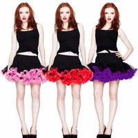 "Hell Bunny 13"" Net Vintage Pinup 50S Mini Tutu Petticoat Skirt Clearance Sale"
