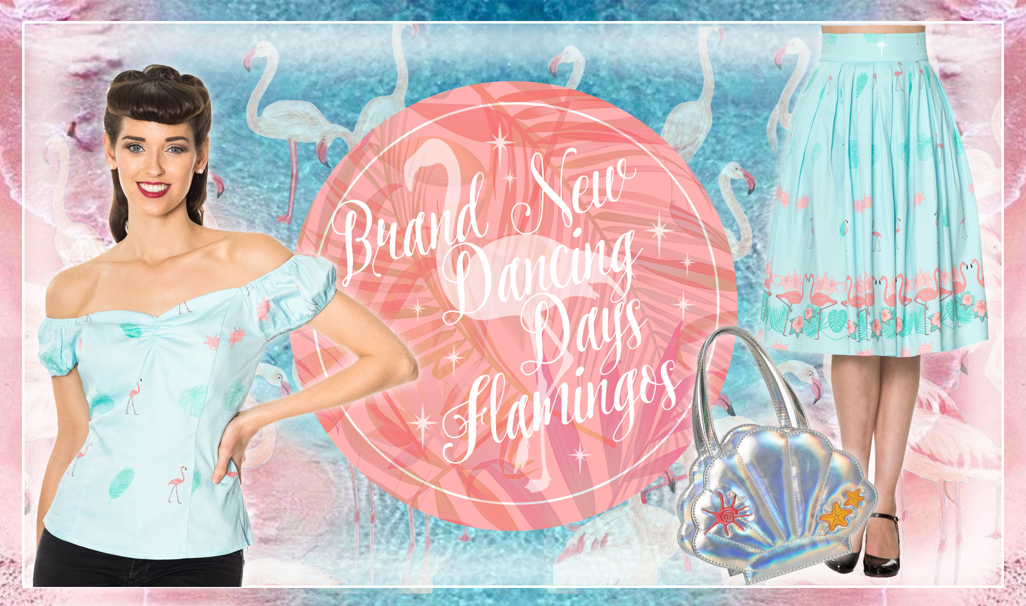 Brand new from Dacing Days - Fabulous Flamingo clothing